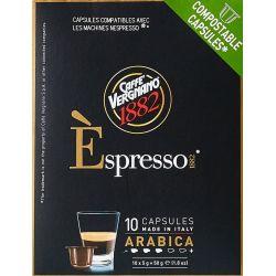 Arabica Espresso Caffè Vergnano 1882 Capsules Compatibles Nespresso®