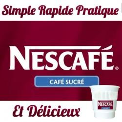 NESCAFE Espresso NOIR Sucre