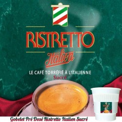 NESCAFE RISTRETTO SUCRE GOUT ITALIEN